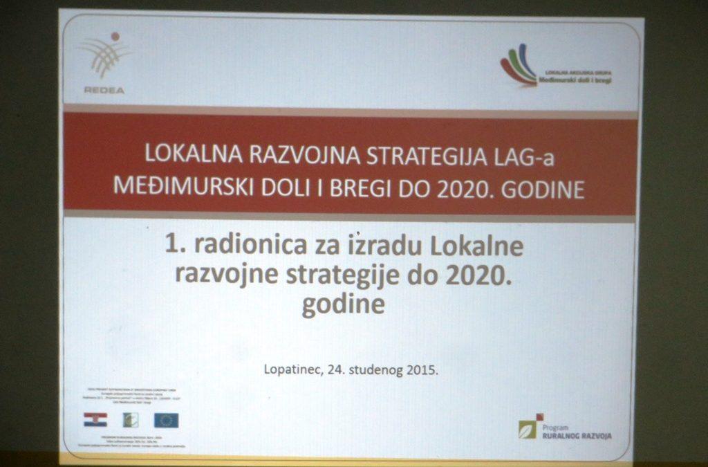 Održana prva radionica za izradu Lokalne razvojne strategije LAG-a u Lopatincu