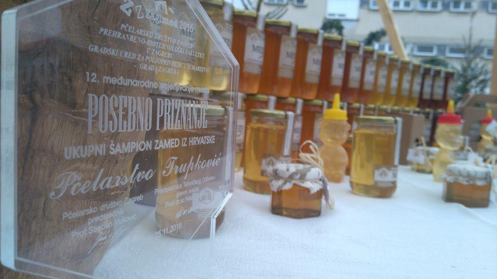 Naš član Pčelarstvo Trupković osvojio titulu 'Ukupni šampion za med iz Hrvatske'