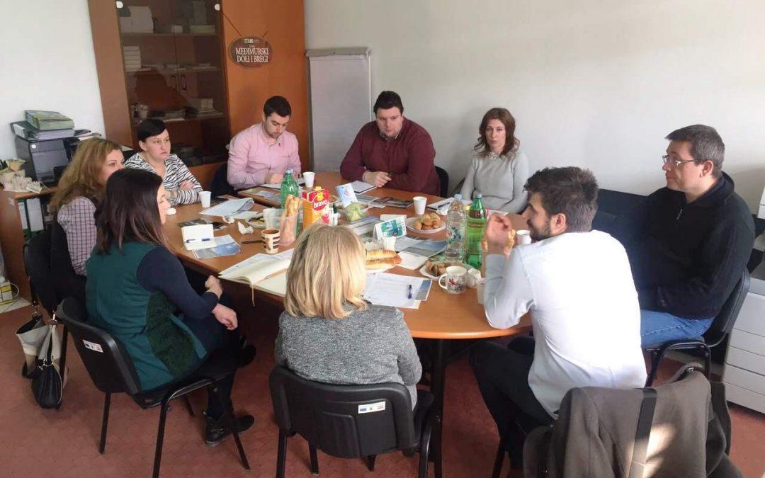 Održan koordinacijski sastanak LAG-ova sjeverozapadne Hrvatske