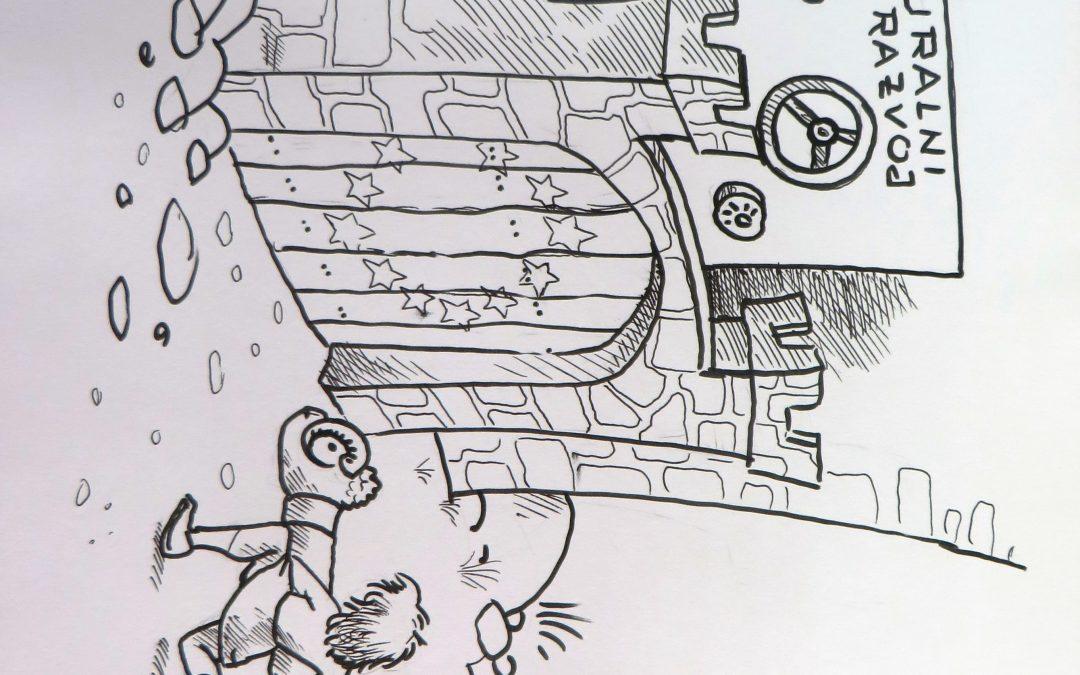 Karikature nastale tijekom 2. Hrvatskog ruralnog parlamenta