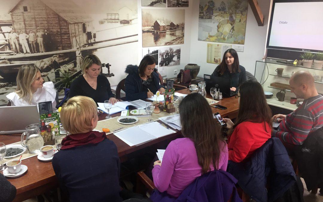 1. kvartalni sastanak partnera na projektu POP-UP RURALNI DRUŠTVENO-INOVATIVNI HUBOVI