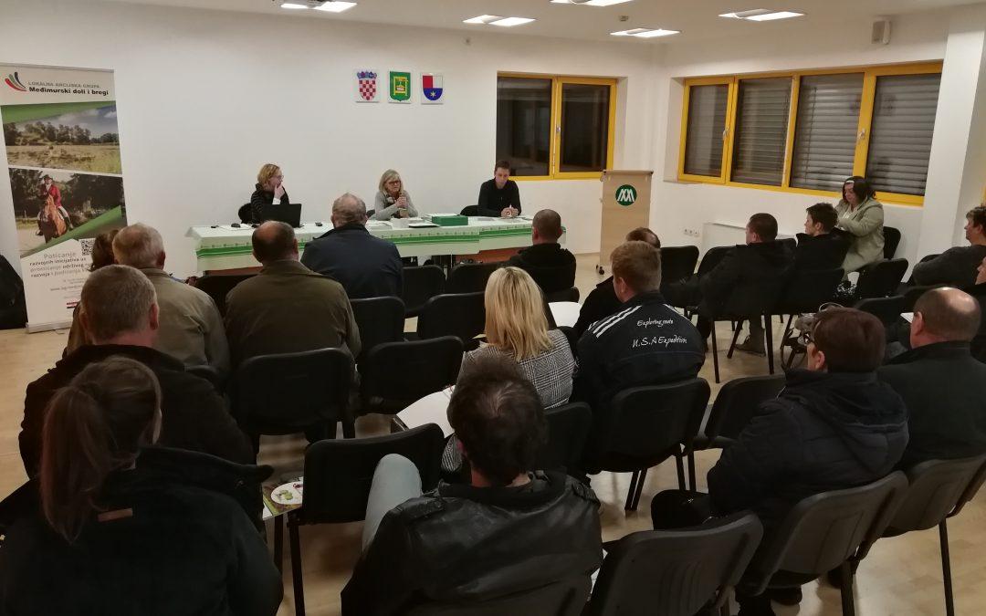 Održan sastanak s nositeljima projekata prijavljenih na LAG Natječaj za provedbu T.O. 1.1.3.
