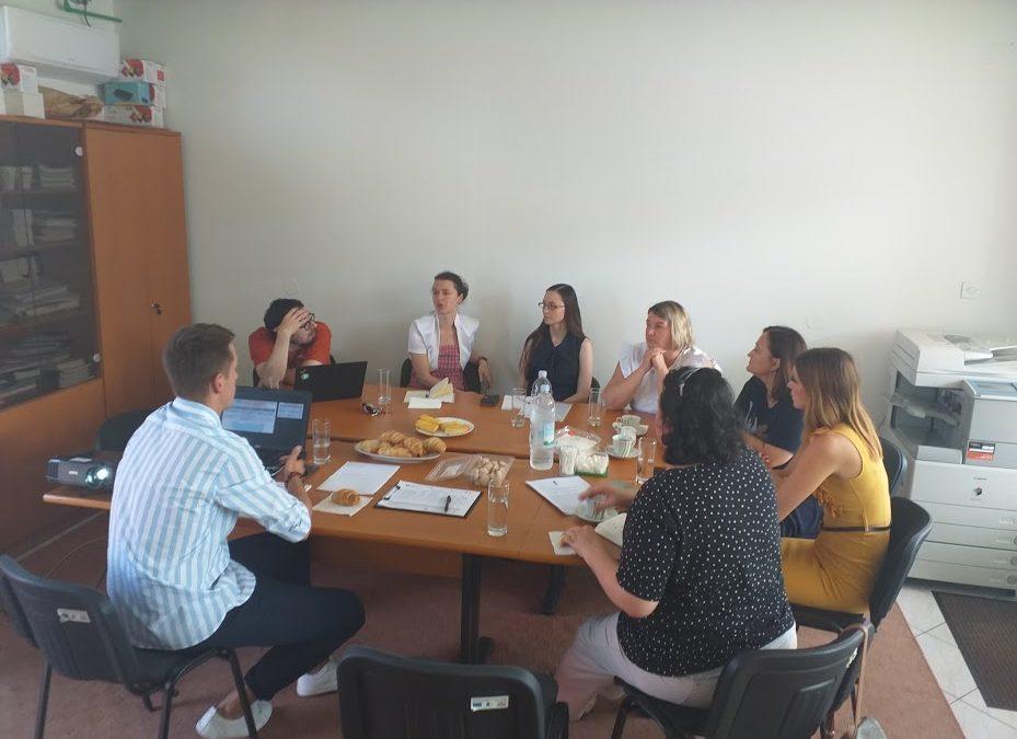 U Nedelišću održan sastanak partnera na projektu POP-UP Ruralni hubovi