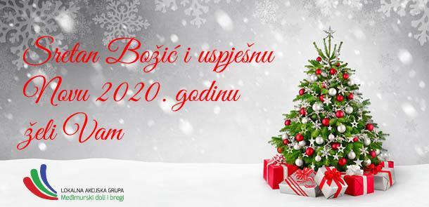Sretan Božić i Nova 2020. godina