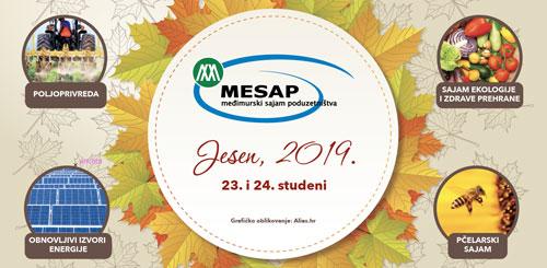 LAG Međimurski doli i bregi sa članovima na sajmu MESAP Jesen 2019.