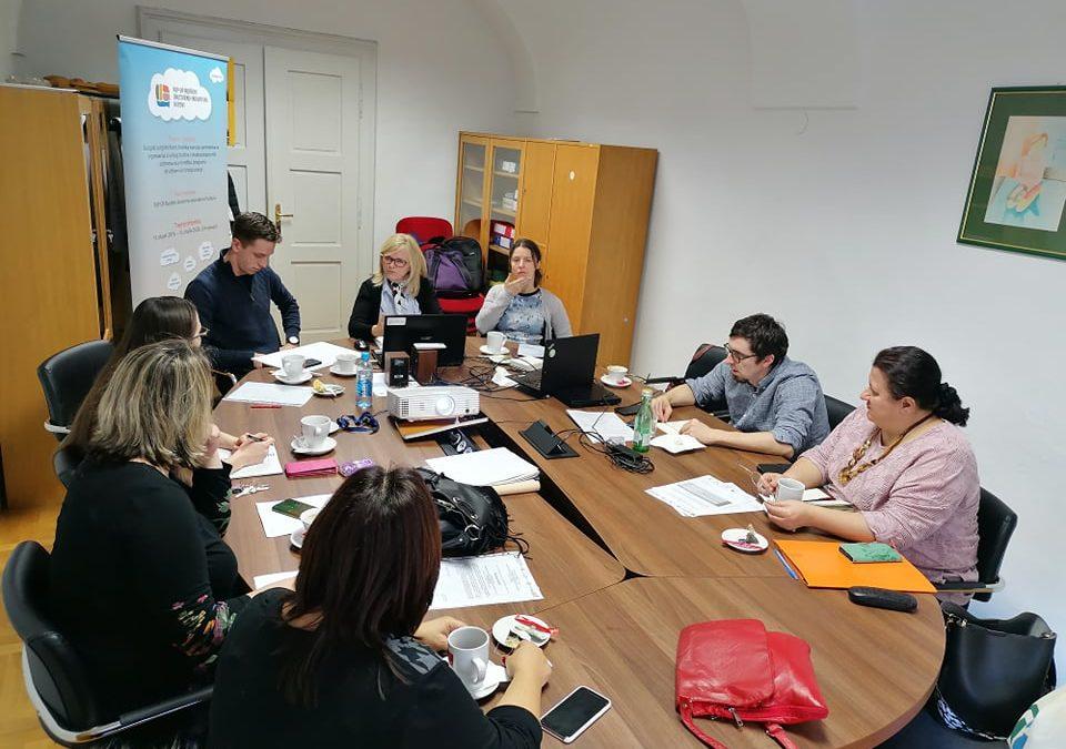 U Varaždinu održan sastanak partnera na projektu POP-UP Ruralni hubovi