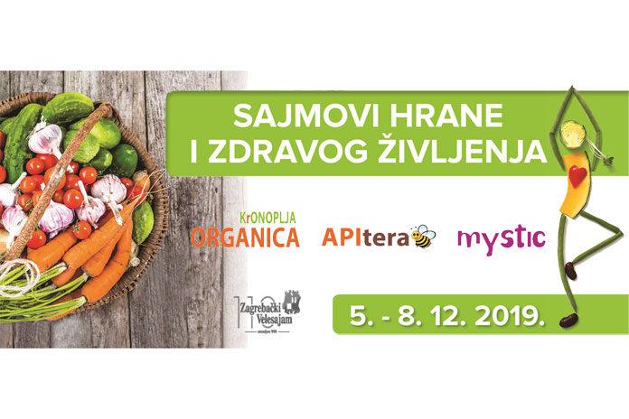"""Članovi LAG-a sudjelovali na sajmovima """"Hrane i zdravog življenja"""" u Zagrebu"""