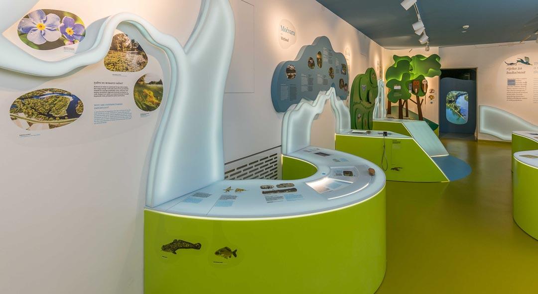 Posjetite novi suvremeni Centar za posjetitelje Med dvemi vodami